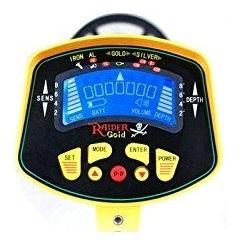 avis test commande détecteur de métaux MD3010II