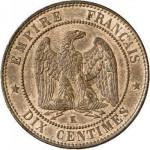 test detection piece 10 centimes napoleon3