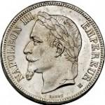 test detection ecu piece 5 francs napoleon3