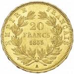 test detection piece en or 20 francs