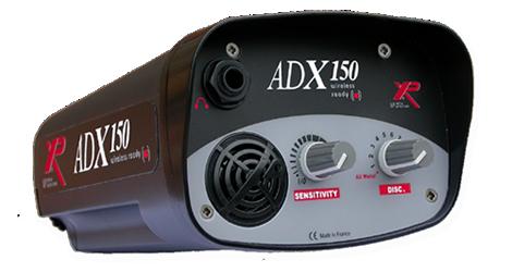 test avis détecteur de métaux ADX 150 XP boitier commande ADX150