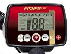 test et avis fisher f22 boitier commande detecteur de metaux milieu de gamme