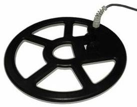 test avis Tesoro DELEON detecteur de metaux disque spider concentrique 21 x 24 cm