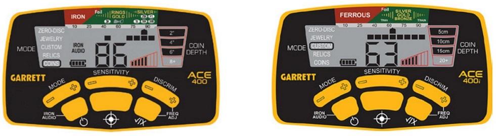 detecteur de metaux 2016 ACE 400 et ACE 400i