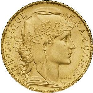 nettoyer pièce en or 20 francs Napoleon Or