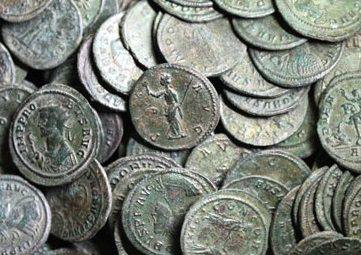 comment nettoyer les monnaies en bronze