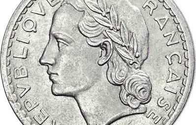 comment nettoyer une monnaie aluminium de 5 francs