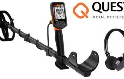 test et avis detecteur Quest Q40 meilleur detecteur de metaux 2018