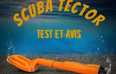 scuba tector test et avis du detecteur plage